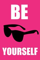 Be Yourself - Pink Fine-Art Print