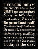 Live Your Dream 7 Fine-Art Print