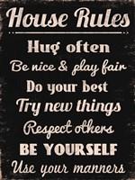 House Rules 1 Fine-Art Print