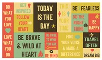 Today Is the Day 16 Framed Print