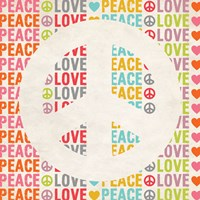 Peace Love 2 Fine-Art Print