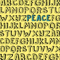 Peace Alphabet Fine-Art Print