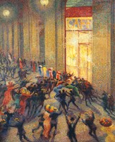 Riot in the Gallery, 1910 Fine-Art Print