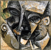 Dynamism of Man's Head 1914 Fine-Art Print