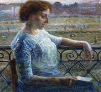 Sister on the Balcony 1909 Fine-Art Print