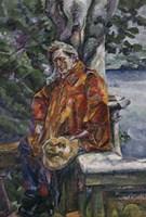 Portrait of Maestro Ferruccio Busoni 1916 Fine-Art Print