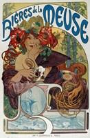 Les Bieres de la Meuse, 1898 Fine-Art Print
