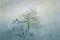 Mountain in the Fog, Staatliche Museen Heidecksburg, Rudolstadt, Germany Fine-Art Print