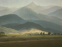 Landscape with Mountains Fine-Art Print