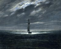 Sea-Piece by Moonlight Fine-Art Print