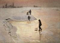The Skaters, 1891 Fine-Art Print