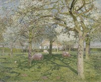 The Orchard in Springtime 1902 Fine-Art Print