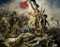 Liberty Leading the People, 1830 Fine-Art Print
