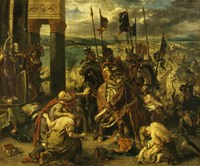 Taking of Constantinople by the Crusaders, April 12th, 1204 Fine-Art Print