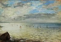 The Sea Seen from Dieppe, c. 1852 Fine-Art Print