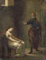 Hamlet and Ophelia Fine-Art Print
