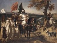 Caid, Moroccan Chief Fine-Art Print