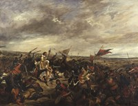 The Battle of Poitiers, 1830 Fine-Art Print