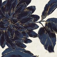 Indigo Garden I Fine-Art Print