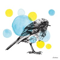 Sketchbook Lodge Bird Fine-Art Print