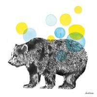 Sketchbook Lodge Bear Fine-Art Print