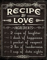 Life Recipes I Fine-Art Print