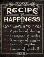 Life Recipes IV Fine-Art Print