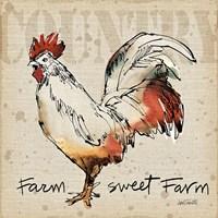 Farm Life V Framed Print