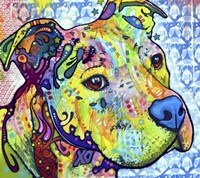 Thoughtful Pit Bull This Years Love 2013 Part 2 Fine-Art Print
