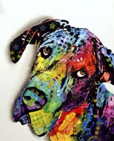 Tilted Dane Fine-Art Print