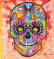Sugar Skull - Day of the Dead Fine-Art Print