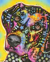 Dotted Dog Fine-Art Print
