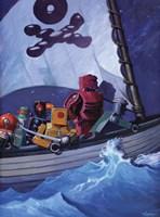 Robo Pirates CMYK Fine-Art Print
