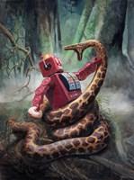 Snakefight Fine-Art Print