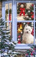 Dog At Window 1 Fine-Art Print