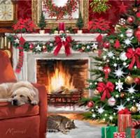Christmas Pets Fine-Art Print