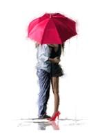 Red Umbrella Fine-Art Print