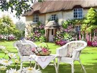 Cottage Chairs Fine-Art Print