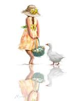 Easter Goose 1 Fine-Art Print