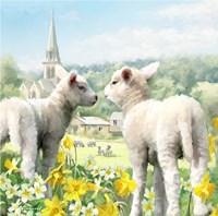 Easter Lambs Fine-Art Print