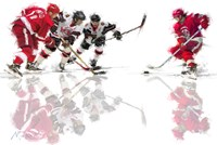 Ice Hockey 2 Fine-Art Print