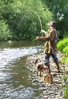 Fishing The Shallows Fine-Art Print