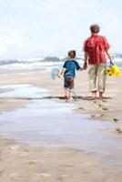 Beach Combers Fine-Art Print