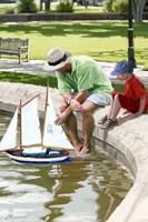 The Boating Lake Fine-Art Print