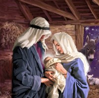 Mary And Joseph Fine-Art Print