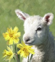 Easter Lamb Fine-Art Print
