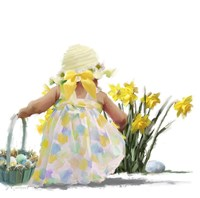 Easter Egg Hunt Fine-Art Print