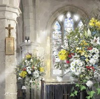 Church Flowers Fine-Art Print