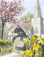 Easter Church Fine-Art Print