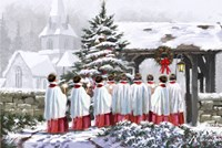 Christmas Choir 1 Fine-Art Print
